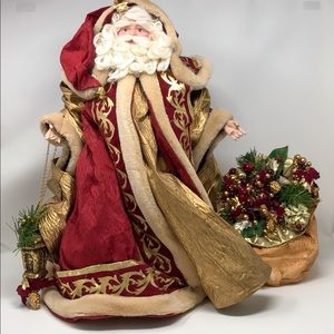 """Large 22"""" Santa Claus for Christmas & the Holidays"""